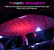 abordables -1 pcs usb rgb voiture lumière toit étoile nuit lumière projecteur atmosphère galaxie lampe usb décoratif lampe réglable multiple éclairage (style commun)