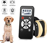 economico -Addestramento del cane Collare antiurto Senza fili Orologi multiuso Prodotti per cani Animali domestici Ompermeabile Senza fili Elettronico / Elettrico regolabile flessibile Facile da applicare