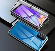 economico -telefono Custodia Per Samsung Galaxy Integrale Custodia ad adsorbimento magnetico S9 S9 Plus S8 Plus S8 A8 2018 A8+ 2018 Nota 9 Nota 8 A7 S10 Resistente agli urti Transparente Doppia setola