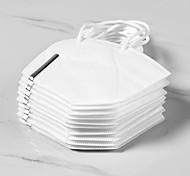abordables -<20 pcs KN95 Masques Protection respiratoire PM 2.5 Protection En Stock Fibre de carbone Non tissé Certification CE Pliable Haute Qualité Blanc / Efficacité de Filtration (PFE) de> 95%