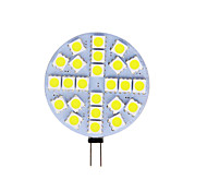 economico -1 pc 4 W Luci LED Bi-pin 180 lm G4 T 24 Perline LED SMD 5050 Bianco caldo Luce fredda 12 V
