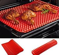 abordables -1 pc ustensiles de cuisson pan antiadhésif silicone tapis de cuisson tapis de cuisson four plateau cuisine outils