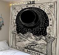 abordables -tarot divination mur tapisserie art décor couverture rideau pique-nique nappe suspendu maison chambre salon dortoir décoration mystérieux bohème lune galaxie