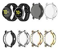 economico -Custodie Per Samsung Galaxy Samsung Galaxy Active TPU Proteggi Schermo Custodia per Smartwatch  Compatibilità 40 mm 44mm