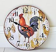 economico -1pcs frameless orologio da parete modello gallo decorazione della casa orologio da parete