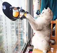 abordables -Balle Jouets Interactifs pour Chat Jouets amusants pour chats Jouet de fenêtre pour chat Tunnel de jeu pour chat Chat 1 pc Jouet de mise au point Plastique Cadeau Jouet pour animaux de compagnie Jeu