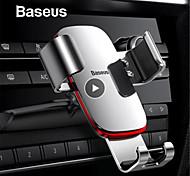 abordables -support de téléphone de voiture de gravité baseus support support de voiture pour smartphone support de téléphone portable pour lecteur de fente pour support de charge de voiture