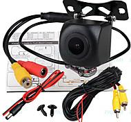 abordables -ziqiao 540 lignes tv 1280 x 720 ccd filaire 170 degrés caméra de recul étanche / plug and play pour voiture