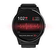 abordables -NORTH EDGE E101 Unisexe Smartwatch Montre Connectée Bluetooth Ecran Tactile Moniteur de Fréquence Cardiaque Mesure de la pression sanguine Calories brûlées Informations ECG + PPG Podomètre Rappel