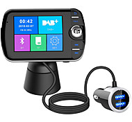abordables -Bluetooth 5.0 Kit voiture Bluetooth Mains libres de voiture QC 3.0 / Modulateur FM MP3 de voiture / Emetteurs FM Automatique