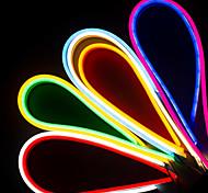 abordables -3M bandes lumineuses LED Ruban LED Flexibles Lampes néon 360 LED 2835 SMD 8mm 1Set Support de montage 1 set Blanc Chaud Blanc Rouge Fête de la St. Patrick Noël Imperméable Extérieur Découpable 12 V