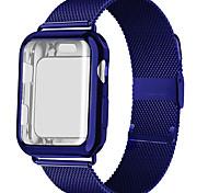economico -Cinturino intelligente per Apple  iWatch 1 pcs Cinturino a maglia milanese Acciaio inossidabile Sostituzione Custodia con cinturino a strappo per Apple Watch  6 / SE / 5/4/3/2/1 38 millimetri 40 mm
