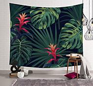 economico -Cuscino per asciugamano da spiaggia in foglia tropicale di banana, con foglie di banana, foglia di banana, sottile bohemia in poliestere, 5 dimensioni, 5 dimensioni