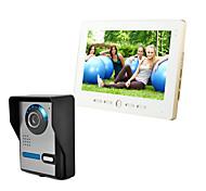 abordables -filaire 7 pouces mains libres 800 * 480 pixel interphone vidéo