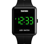 economico -SKMEI Unisex Orologio digitale Digitale Quarzo Moderno Numero romano Di tendenza Resistente all'acqua Calendario Luce LED / Un anno / Silicone
