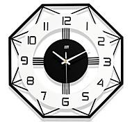 economico -orologio da parete design moderno stile nordico soggiorno orologi da parete decorazioni per la casa moda camera da letto creativa orologio da parete silenzioso arredamento da parete 35*35CM