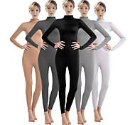 abordables -Combinaison Morphsuit Costume de Cosplay Combinaison-pantalon Adulte Costumes de Cosplay Genre Homme Femme Couleur Pleine Halloween Carnaval Mascarade / Costume de peau