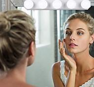 abordables -Miroirs cosmétiques Lampe LED / Homme Maquillage 1 pcs / Rond Universel / Quotidien / Maquillage Mode / Moderne Carnaval / Utilisation / Professionnel Maquillage Quotidien / Maquillage d'Halloween