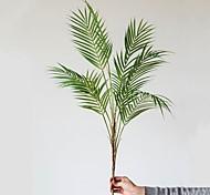abordables -1 branche plantes artificielles vives décor à la maison créatif fête de mariage affichage simulation feuilles décor