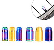 abordables -700CC / 29 inch / 26 inch mm Cyclisme Bouchons de valve Autre matériel / Alliage en Titane / Matériel mixte Cyclisme Rayons mm