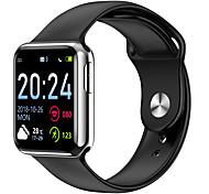 abordables -V5 Unisexe Smartwatch Montre Connectée Bluetooth Imperméable Moniteur de Fréquence Cardiaque Mesure de la pression sanguine Suivi de distance Informations ECG + PPG Podomètre Rappel d'Appel Moniteur
