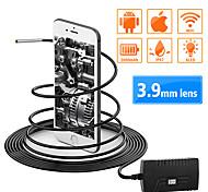 economico -3.9 mm lente 100 cm endoscopio wifi Lunghezza di lavoro Impermeabile Portatile Senza fili