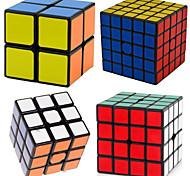 economico -Set Speed Cube 4 pcs Cubo magico Cube intuitivo Shengshou 2*2*2 3*3*3 4*4*4 Cubi Anti-stress Cubo a puzzle Livello professionale Velocità Professionale Classico Per bambini Per adulto Giocattoli
