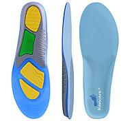 abordables -Inserts orthétiques Inserts de chaussures Semelles de course Homme Femme Semelles sportives Supports pour les pieds Absorption des chocs Support de l'arche Respirable pour Course Running Jogging