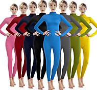 abordables -Combinaison Morphsuit Costume de Cosplay Combinaison-pantalon Adulte Costumes de Cosplay Genre Homme Femme Couleur Pleine Halloween Carnaval Mascarade / Costume de peau / Collant / Combinaison