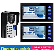"""economico -videocitofono da 7 """"a mani libere cablato da 7"""" 800 x 480 pixel"""