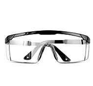 abordables -Lunettes de sécurité Bouclier de protection Lunettes transparentes Protection des yeux Lunettes anti-salive anti-poussière Équipement de sécurité extérieure