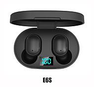economico -iMosi E6S Auricolari wireless Cuffie TWS Senza filo Stereo Dotato di microfono Con il controllo del volume per Apple Samsung Huawei Xiaomi MI Cellulare