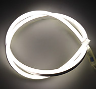 abordables -5m bandes lumineuses LED Ruban LED Flexibles Lampes néon 600 LED 2835 SMD 6mm 1Set Support de montage 1 set Blanc Chaud Blanc Rouge Fête de la St. Patrick Noël Imperméable Extérieur Découpable 12 V