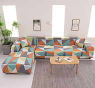 abordables -housse de canapé extensible en forme de L en tissu super doux (vous obtiendrez 1 taie d'oreiller en cadeau gratuit)