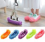 abordables -Pantoufles pour Femme Maison chaussons Simple Eponge Couleur Pleine Chaussures