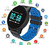 abordables -B2 Unisexe Smartwatch Montre Connectée Bluetooth Imperméable Moniteur de Fréquence Cardiaque Mesure de la pression sanguine Longue Veille Informations Minuterie Podomètre Rappel d'Appel Moniteur
