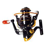 economico -Mulinelli da pesca Mulinelli per spinning 5.5:1 Rapporto di trasmissione 6 Cuscinetti a sfera Per i destrorsi per Pesca di mare / Pesca a mosca / Pesca a mulinello