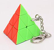 abordables -Ensemble de cubes de vitesse 1 pcs Cube magique Cube QI Zcube 3*3*3 Cubes Magiques Casse-tête Cube Porte-clés Rotatif Facile à transporter Adultes Enfants Jouet Cadeau