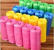 abordables -100 pcs sacs à ordures gilet style sac de rangement pour les déchets ménagers sacs poubelle