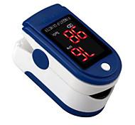 economico -Fitfaith m130 pulsossimetro oled colorimetro saturazione di ossigeno nel sangue monitora la frequenza cardiaca di ossigeno nel sangue e livelli di spo2 colore casuale spedito batterie aaa (non include