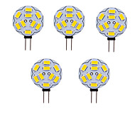 abordables -5 pièces 1 W LED à Double Broches 180 lm G4 T 9 Perles LED SMD 5730 Blanc Chaud Blanc Froid