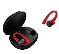 abordables -LITBest T7Pro Écouteurs sans fil TWS Casques oreillette bluetooth Sans Fil Stéréo Avec boîte de recharge Résistant à la sueur pour Sport Fitness