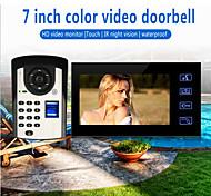economico -videocitofono da 1 a 800 pollici a mani libere cablato da 800 * 480 pixel