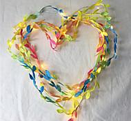 abordables -10m Guirlandes Lumineuses 100 LED Blanc Chaud La Saint-Valentin jour de Pâques Soirée Décorative Vacances Piles AA alimentées