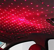 abordables -1 pcs mini led toit de voiture étoile nuit lumière usb décoratif lampe projecteur réglable atmosphère maison plafond décoration lumière (style de surbrillance)