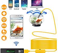 abordables -8 mm lentille 100 cm Endoscope wifi Longueur de travail Imperméable Portable Sans-Fil