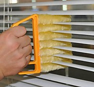 abordables -utile microfibre brosse de nettoyage de vitres brosse aveugle climatiseur duster nettoyant avec chiffon de nettoyage lavable store vénitien
