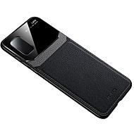 economico -telefono Custodia Per Samsung Galaxy Per retro Custodia in pelle S20 Plus S20 Ultra S20 Resistente agli urti Tinta unica pelle sintetica TPU