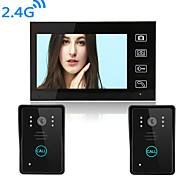 economico -videocitofono senza fili da 800 * 480 pixel vivavoce da 2,4 pollici 7 pollici da 800 a 480 pixel
