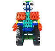 abordables -Blocs de Construction Jouet Educatif 137 pcs Robot compatible Carcasse de plastique Legoing Focus Toy Fait à la main Tous Jouet Cadeau
